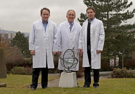 v.l.n.r.: Andreas Hellbach, Bernd Hellbach, Michael Hellbach